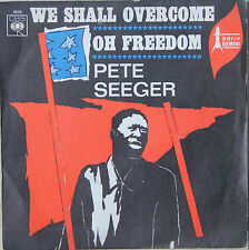 "Vinyle 45T Pete Seeger ""We shall overcome"" - TRES RARE"