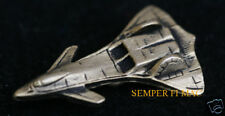F-19 STEALTH FIGHTER SKUNK WORKS HAT PIN MADE IN US AIR FORCE NASA FIGHTER GIFT