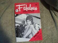 Fabulous Las Vegas Magazine Elvis Ad Bobby Gentry Sophia Loren Ad 1/27/1973