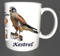 KESTREL BRITISH BIRD MUG LIMITED EDITION CHRISTMAS GIFT
