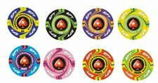 Pokerchips Keramik 10,5g 39mm individuelles Design (aligned edges) ab 500 Chips