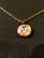 Bird's Nest and Freshwater pearl eggs Necklace by Rhonda Chase Designs