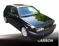 CARBON Car Bra  Steinschlagschutz Haubenbra für VW Golf 3 Tuning & Styling