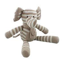 Bambino Giocattolo Morbido Lavorato a Maglia-Elefante 30 cm