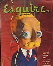 Esquire--Jan. 1950 - Gate-fold Al Moore-- 2 page Remington color picture -----86