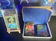 More details for pokemon mystery box / pack, graded slab + extras