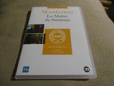 """DVD NEUF """"LA MAITRE DE SANTIAGO - MONTHERLANT"""" Jacques EYSER / theatre"""
