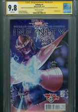 Infinity 1 CGC 9.8 2013 Third Eye Variant Stan Lee Signature Series Avengers War