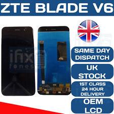 ZTE blade V6 Negro Pantalla táctil LCD digitalizador pantalla OEM Original Negro X7 D6
