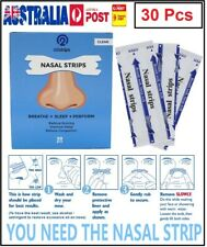 30 Pcs Nasal Strips Stop Snoring Help Breathe Easy Right Anti Snore Nose Strip