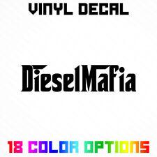 Diesel Mafia Sticker - Vinyl Die Cut Decal Chevy Dodge Ford