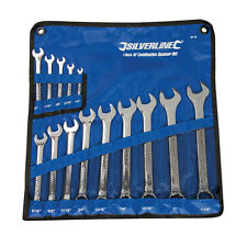 Silverline SP52 Combination Spanner Set 14pc 1/4 - 1-1/4""