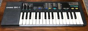 Vintage Casio SK-1 Sampling Keyboard w/ Mod, Made In Japan