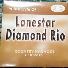 LONESTAR & DIAMOND RIO CDG KARAOKE COUNTRY CLASSICS CKC #13 CD+G AMAZED,WRINKLES