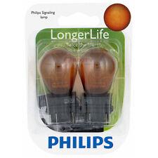 Philips Long Life Mini Amber Light Bulb 3757NALLB2 for 3757 3757NA S-8 ac