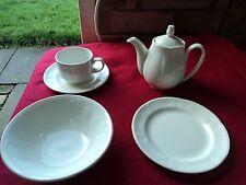 New Steelite Torino White Ceramic Crockery