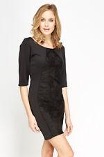 Vestito Donna Vestitino Miniabito Abito MISS FACELESS Bodycon SA405 Tg S/M M/L