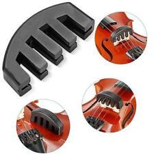 Black Ultra Heavy Rubber Practice Mute for 1/2 3/4 4/4 Violin Vioin Accessories