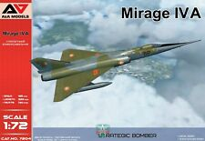A&A Models 7204 1:72nd scale Mirage IV A Strategic Bomber