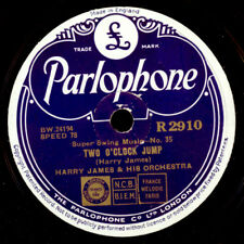 Harry James Orch. Two O 'clock jump/' Taint what you do GOMME LAQUE PLAQUE x2326
