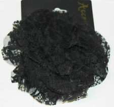 NEW SMALL BLACK LACE HAIR CLIP FASCINATOR FROM MONSOON ACCESSORIZE BNWOT £10.00