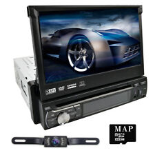 "Single 1Din 7"" In Dash Car DVD Radio Stereo GPS Navi Mirror Link Bluetooth Dab+"