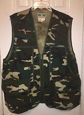 Men's Game Winner Sportswear Camouflage Camo Hunting Gamebag Vest Size Med