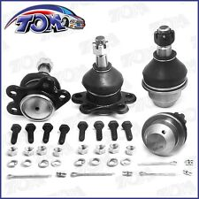 4Pcs Lower Upper Ball Joints Set For Chevy Gmc K2500 K1500 Tahoe Suburban 4wd