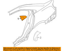 FORD OEM 10-15 Taurus Exterior-Upper Molding Trim Left AG1Z5428167B