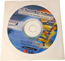 New, Roxio CD Recording Software f. Windows 98/2000/Me/XP and NT 4.0 ECDC 5.1