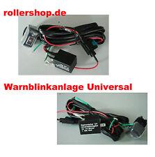 Warnblinkanlage 12 V zum nachrüsten für Zweirad, Dreirad, Quad, usw.