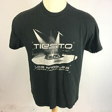 DJ Tiesto Concert Tour 2005 T Shirt Hip Hop Rap Music Rave Los Angeles Miami