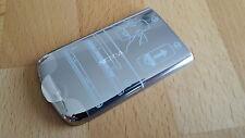 NEU & ORIGINAL Akkudeckel für Nokia 6700 classic in silber/chrom