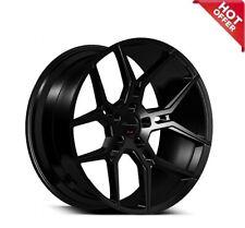 Set4 20 Staggered Giovanna Wheels Haleb Black Popular Rims Fits 2011 Toyota Camry