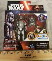 Star Wars Force Awakens Captain Phasma Armor Up Action Figure Hasbro 2015 NIB