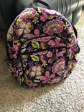 Vera Bradley Olivia BACKPACK in Mod Floral Pink Preowned. Excellent