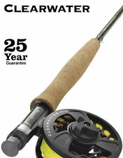"""Orvis Clearwater Freshwater Fly Rod Outfit- 5 Weight, 8'6"""", 4 pc - Includes Reel"""