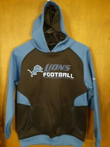 Detroit Lions Youth Reebok Hooded Sweatshirt
