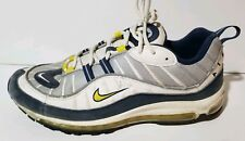 """Nike Air Max 98 """"Tour Yellow""""  Men's Size 12 Preowned 2014 Release"""
