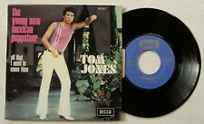 TOM JONES (SP 45T) THE YOUNG NEW MEXICAN PUPPETEER - FRANCE 1972 - LANGUETTE