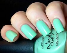 NEW! Nicole By OPI nail polish lacquer I SHOP MINTAGE ~ Mint Green