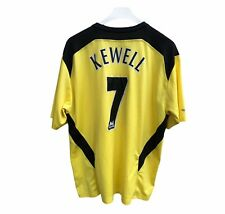Rare Kewell #7 Liverpool FC 2004/2005 Away Football Shirt Jersey Reebok Adults L