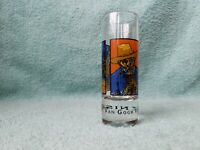 "Van Gogh Vodka Martini. Demand It. Shot Glass 4 1/4"" tall"