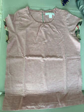 Burberry tee shirt. Girl. Size 12T