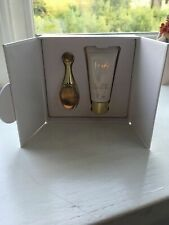 Dior J'adore 5ml EDP Collectable Miniature & 20ml Body Milk Display Box New Mint