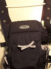 CARRIER BABY INFANT INFANTINO 2-IN-1 FACE IN OR OUT GO GO RIDER NAVY BLUE PLAID