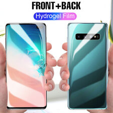 2X For Samsung Galaxy S20+ S10+ S10e S9 Hydrogel Soft Film Screen Protector Film