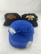 (3) Hat Lot - Budweiser Budlight Halloween Weekend