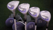 Bullet Golf Womens .444 Fairway High Launch 9&11&13&15 Wood 4pc SET Ladies NEW