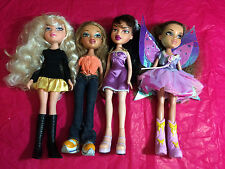 MIXED LOT OF 4 PREVIOUSLY PLAYED WITH BRATZ DOLLS LOT A1